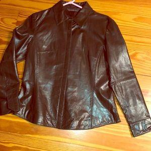 Vintage Leather jacket nwots
